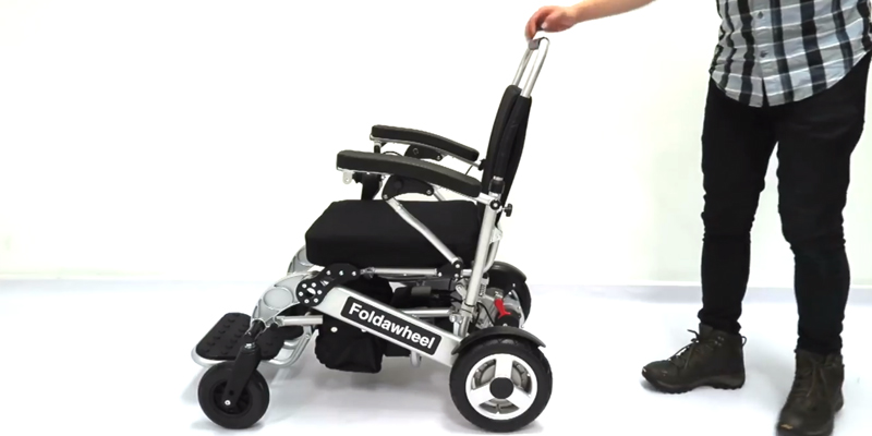 Review of Wheelchair88 PW-1000XL Folding Electric Wheelchair