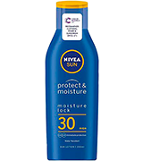 Nivea Protect & Moisture SUN Suncream Lotion SPF 30