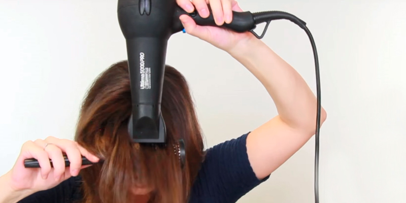 Review of Diva Professional Styling Ultima 5000 PRO Black Rubberised Hairdryer with Wand