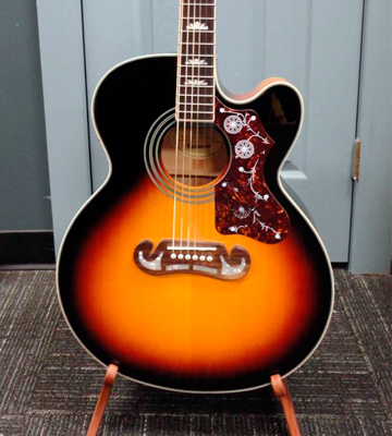 Review of Epiphone EEJ2VSGH1 EJ-200SCE Acoustic Electric Guitar