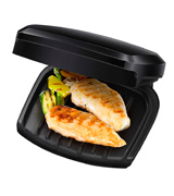 George Foreman GE-23400 Compact 2-Portion Grill