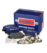 Borg & Beck BBP1777 Rear Brake Pads