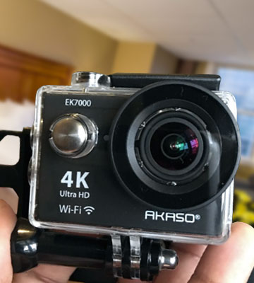 Review of AKASO EK7000 Action Camera (4K, WiFi, Waterproof)