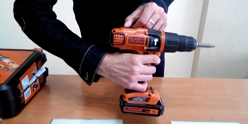 Detailed review of Black & Decker EGBL188K-GB 18 V Lithium Ion 2 Gear Hammer Drill