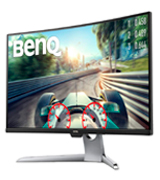 BenQ EX3203R 32-Inch QHD 2K HDR 144Hz Curved Gaming Monitor (1800R, FreeSync)