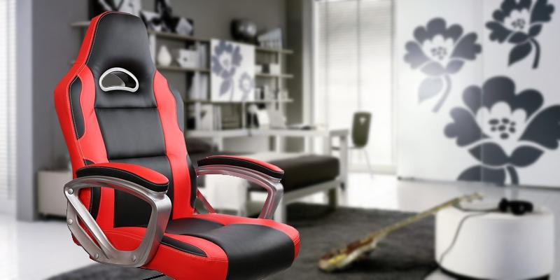 IntimaTe WM Heart PU Leather Swivel PC Chair in the use