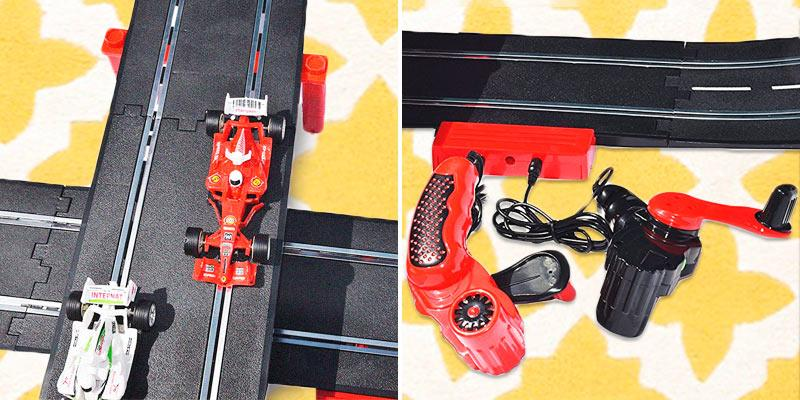 Review of deAO Slot Cars racing Track