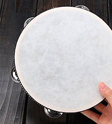 Review of Andoer 1000913 10 Hand Held Tambourine Drum