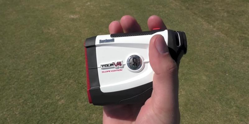 Review of Bushnell Golf 2017 Tour V4 Jolt Laser Monocular Distance Rangefinder