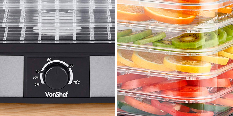 Review of VonShef 13/381 Food Dehydrator