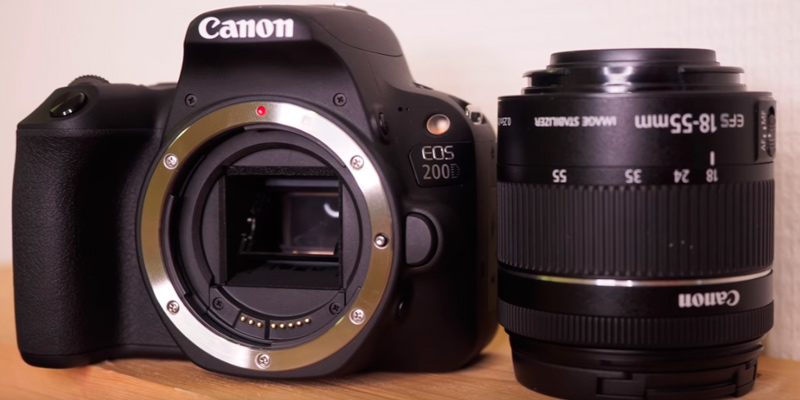 Review of Canon EOS 200D DSLR Camera + EF-S 18-55 mm f/4-5.6 IS STM Lens