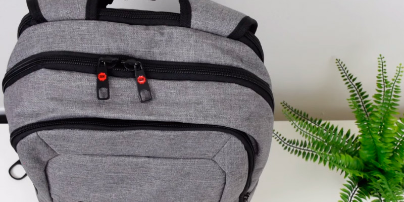 Slotra Slim TGN-02 Laptop Backpack in the use