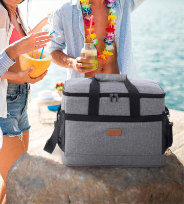 Review of Lifewit LF233125 Large Insulated Picnic Cooler Bag