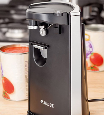 Review of Judge Electric Can Opener with Knife Sharpener and Bottle Opener
