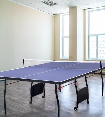 Review of HLC 9FT Professional Folding Table Tennis Table Set