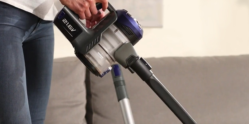 Review of Eureka NEC122A Power Plush cordless 2-in-1 Stick Vacuum Cleaner