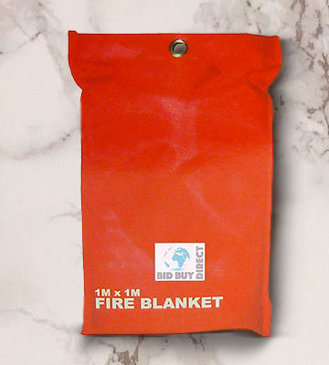Review of Babz Fire Blanket Large, Quick Unfolding