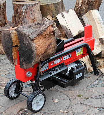Review of Wolf Creek Cherokee 8 Electric / Hydraulic Log Splitter