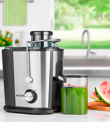 Review of Aicok 800W Wide Mouth Juice Extractor Centrifugal Juicer