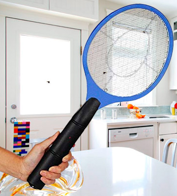 Review of St@llion bug zapper Battery powered