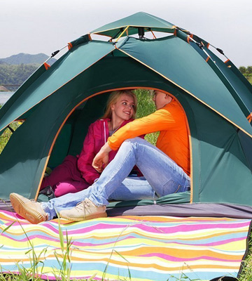 Review of Toogh Auto Pop-Up Camping Tent