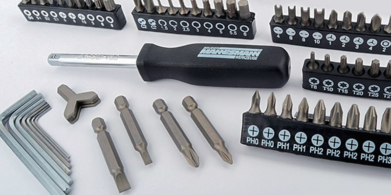 Review of Mannesmann M29166 130 Piece Socket and Bit Set