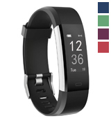 Delvfire ID115HRP Fitness Tracker Activity Watch and Heart Rate Monitor