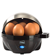 Neo 3 in 1 Durable Stainless Steel Electric Egg Cooker, Boiler, Poacher & Omelette Maker