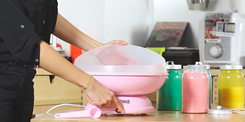 Review of JM Posner Simply Entertaining Candy Floss Machine