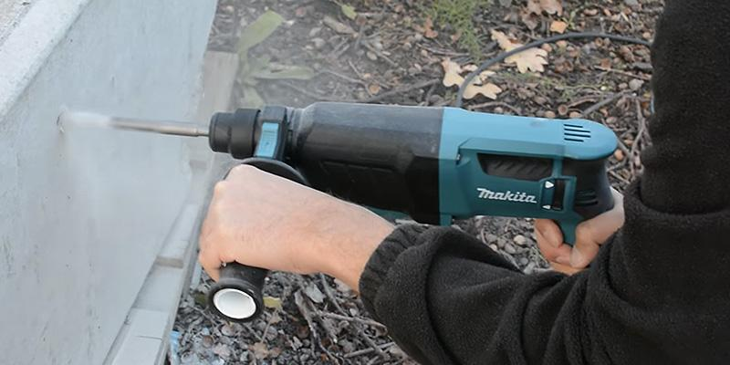 Makita HR2630 26 mm 3 Mode SDS Plus Rotary Hammer Drill in the use