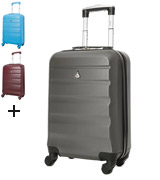 Aerolite ABS322 Lightweight Travel Carry On, Cabin Size