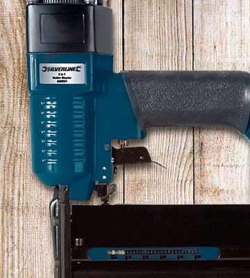 Review of Silverline 633524 Gauge Air Nailer Stapler