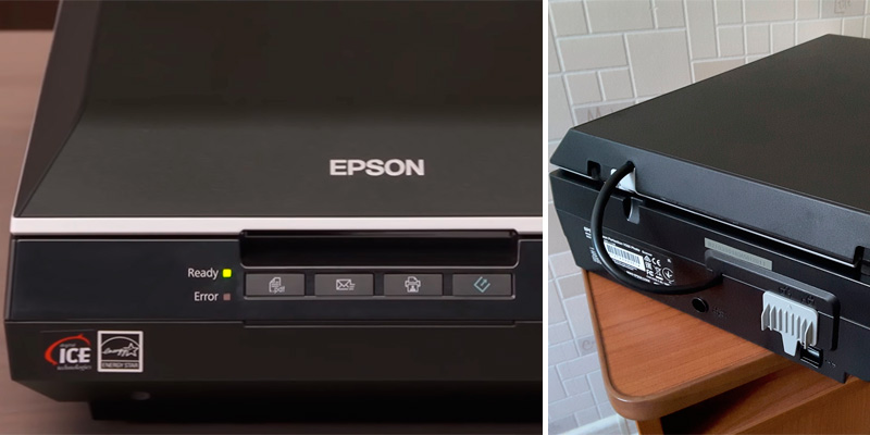 Epson Perfection V550 Photo Scanner in the use
