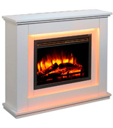 Endeavour Fires and Fireplaces Castleton Electric Fireplace Suite