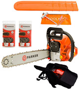 ParkerBrand 62CC Petrol Chainsaw