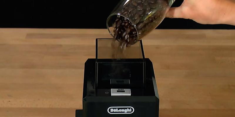 Delonghi Professional Burr Coffee Grinder application