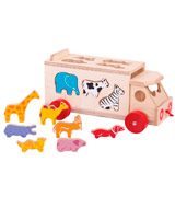 Bigjigs Toys BJ300 Animal Shape Lorry