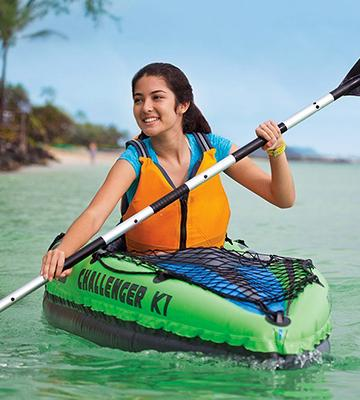 Review of Intex Challenger K1 Kayak