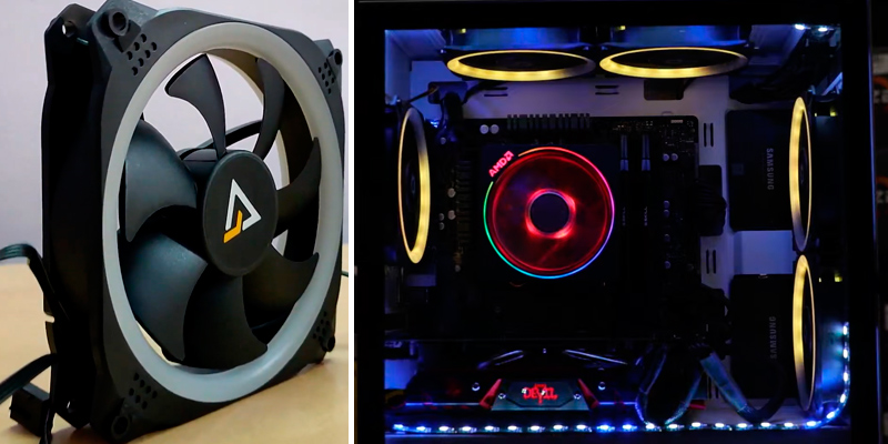 Review of Antec (AMGSPARK) 120mm RGB Case Fans (Pack of 3)