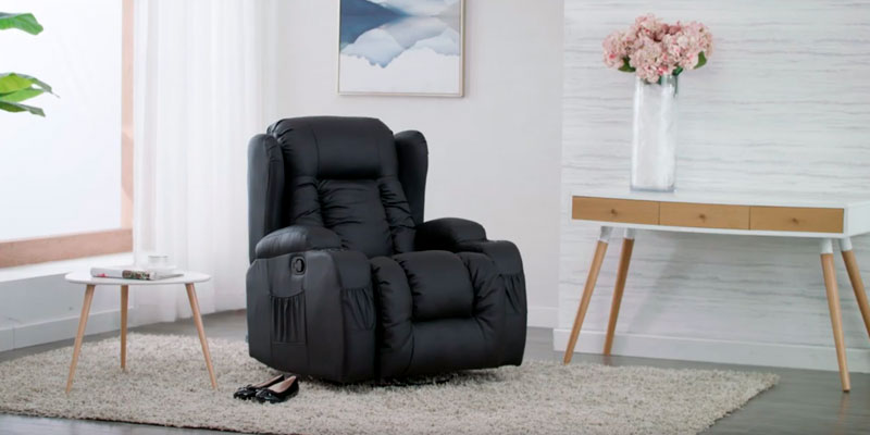 Review of More4Homes CAESAR Electric Recliner with Massage