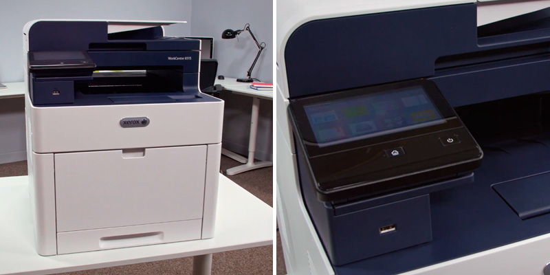 Xerox WorkCentre (6515n) Colour Laser Printer in the use