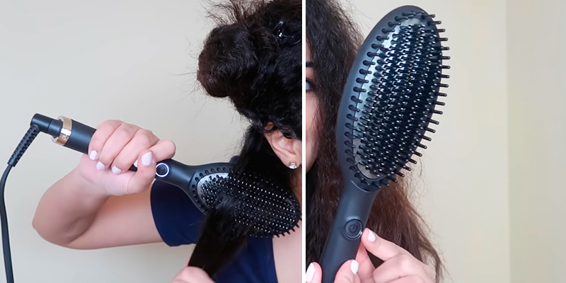Review of ghd Glide Hot Brush Hair Straightener