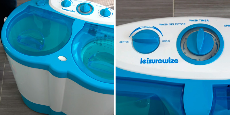 Review of Streetwize LWWM Portawash Twin Tub Washing Machine