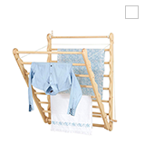 Julu Doris 80cm Wide Laundry Ladder Clothes Airer