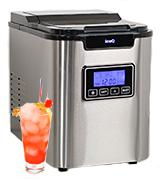 IceQ Deluxe Stainless Steel Ice Machine Maker