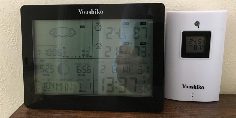 Detailed review of Youshiko YC9360 Digital Wireless Weather Station