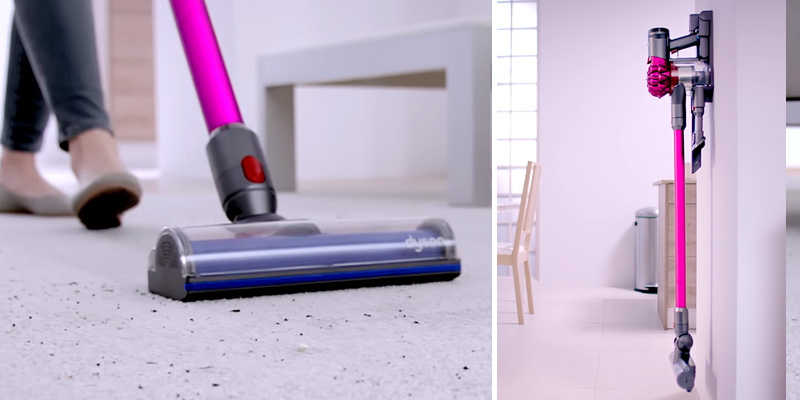 Dyson _V7 Motorhead Cordless Handheld Vacuum Cleaner in the use