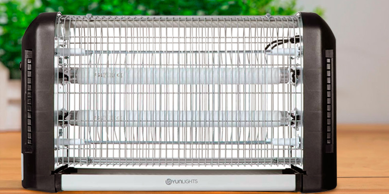 Review of YUNLIGHTS Electric Fly Killer Mosquito Killer Bug Fly Zapper Electric Indoor
