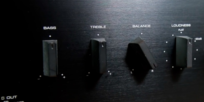 Yamaha A-S501 2 Channel Integrated Amplifier in the use