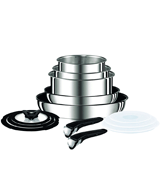 Tefal Ingenio 13-Piece Pots and Pans Set, Stainless Steel